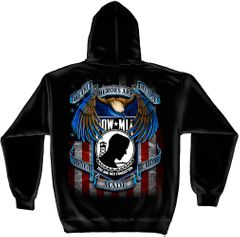 Hooded Sweat Shirt Heroes POW