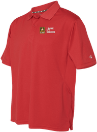 I Love My Soldier U.S. Army Moisture Wicking Polo