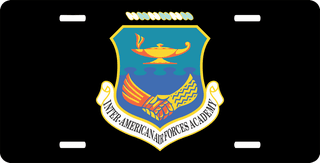 Inter-American Air Force Academy License Plate