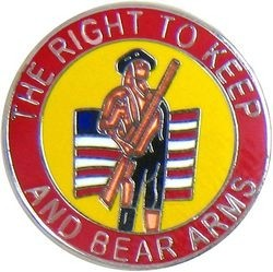 Keep & Bear Arms Lapel Pin