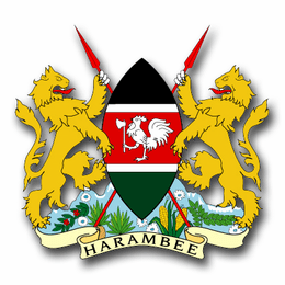Kenya Coats Of Arms Decal