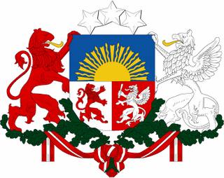 Lativa Coats Of Arms Decal