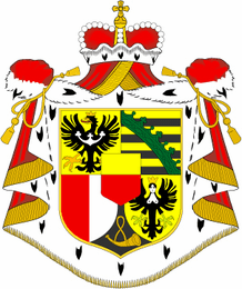Liechtenstein Coats Of Arms Decal