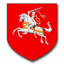 Lithuania Coats Of Arms Decal