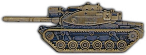 M6 A1 Tank (large) Lapel Pin