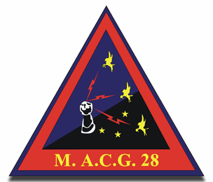 Marine Air Control Group MACG 28 2nd MAW Sticker Decal