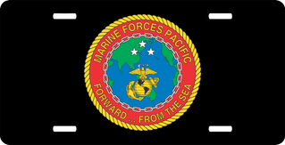 Marine Forces Pacific License Plate