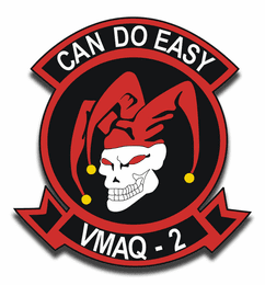 Marine Tactical Electronic Warfare Squadron 2 of MAG 14 Sticker Decal