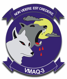 Marine Tactical Electronic Warfare Squadron VMAG-3 Sticker Decal