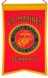 Marines Seal Banner