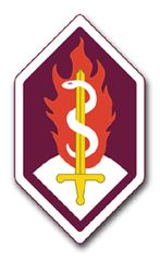 Medical Services Command Patch Vinyl Transfer Decal