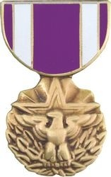 Meritorious Service Medal Hat Pin