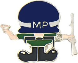 Military Police Lapel Pin