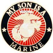 'MY SON IS A MARINE' LAPEL PIN