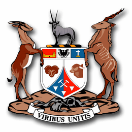 Namibia Coats Of Arms Decal