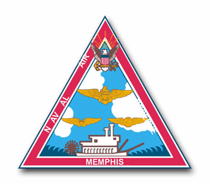Naval Air Reserve Navaires Memphis Vinyl Transfer Decal