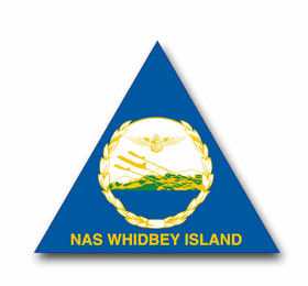 Naval Air Station Whidbey Island Vinyl Transfer Decal