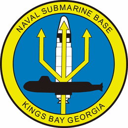 NAVAL SUBMARINE BASE KINGS BAY, GEORGIA MILITARY DECAL