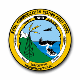 Navy Communication Station Puget Sound Vinyl Transfer Decal