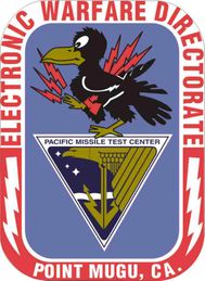 Navy Electronic Warfare Directorate Point Mugu CA Vinyl Transfer Decal