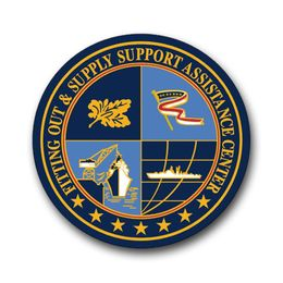 Navy Fitting Out & Supply Support Assistance Center Vinyl Transfer Decal