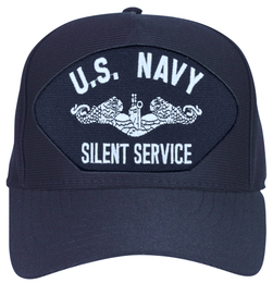 Navy Silent Service with Dolphins Ball Cap