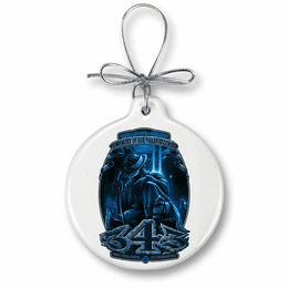 Never Forget 9/11 Christmas Ornament