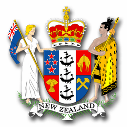 New Zealand Coats Of Arms Decal