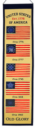 Old Glory Heritage Banner
