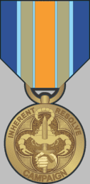 Operation Inherent Resolve Campaign Medal Decal
