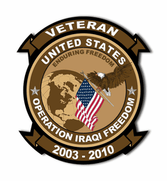 Operation Iraqi Freedom Decal Sticker