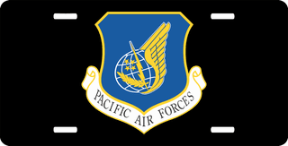 Pacific Air Forces Command License Plate