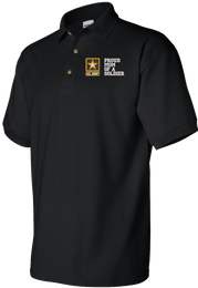 Proud Mom of a Soldier U.S. Army Polo