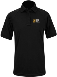 Proud Sister of a Soldier U.S. Army Propper Womens Snag Free Polo