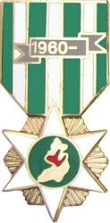 RVN Campaign Medal Hat Pin