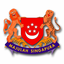 Singapore Coats Of Arms Decal