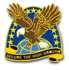 Space and Missile Defense Command Unit Crest Vinyl Transfer Decal