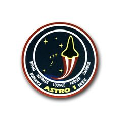 SPACE SHUTTLE COLUMBIA STS 35 VINYL TRANSFER DECAL