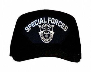 Special Forces with Patch Ball Cap