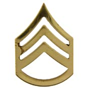 Staff Sargent E-6 Army Lapel Pin