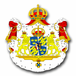 Sweden Coats Of Arms Decal