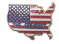 THE GREATEST (COUNTRY FLAG) LAPEL PIN