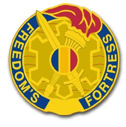 Training and Doctrine Command Unit Crest Vinyl Transfer Decal