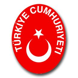 Turkey Coats Of Arms Decal