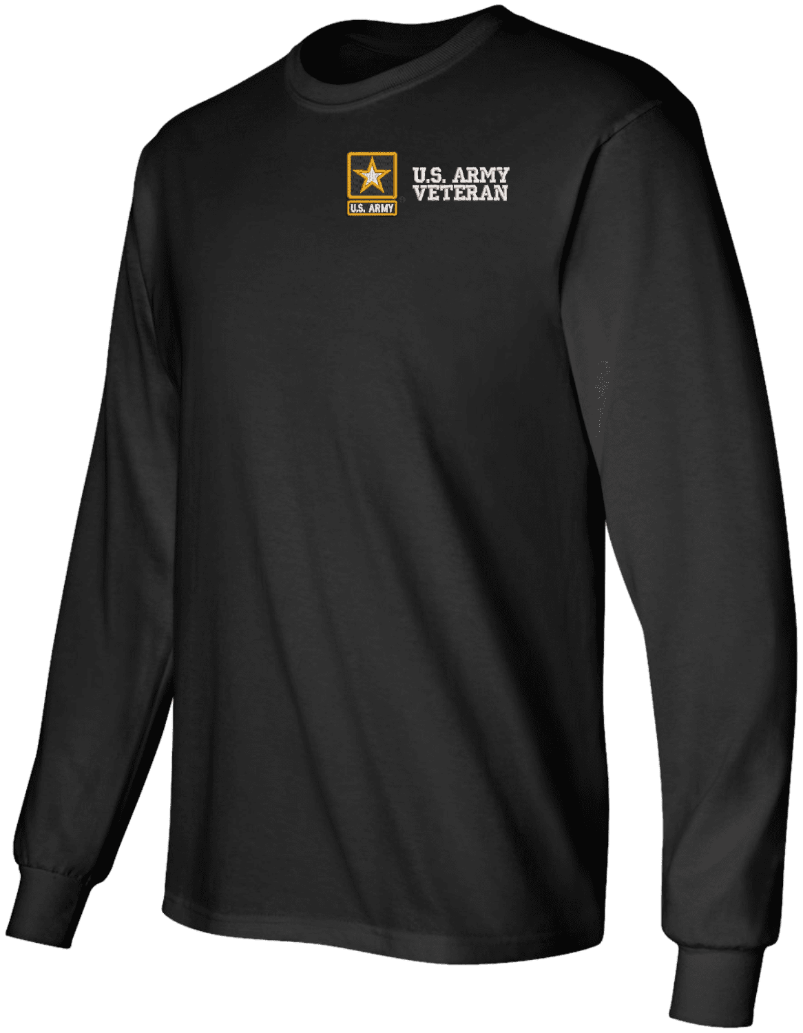ARMY STYLE EMBROIDERED LONG SLEEVE SHIRT WITH STAR SHAPE BRASS STUDS 100/% COTTON