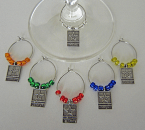 U.S. Army Wine Glass Charms