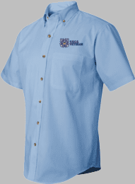 U.S.C.G. Veteran Short Sleeve Dress Shirt