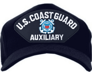 U.S. Coast Guard Auxiliary with Seal Ball Cap