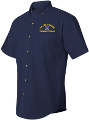 U.S. Coast Guard Vietnam Veteran Short Sleeve Dress Shirt