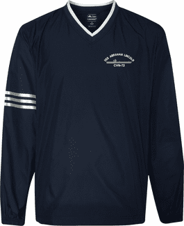 U.S. Navy Custom Embroidered Adidas Windshirts
